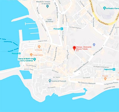 location per matrimonio napoli map